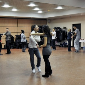 Workshop bachata à Vaux-le-Pénil 2013