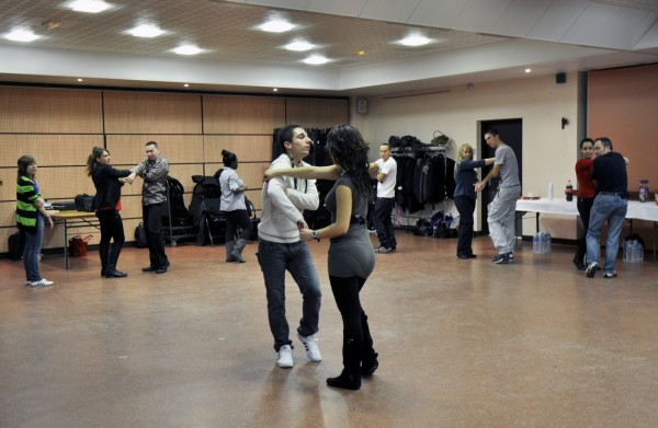 Workshop bachata à Vaux-le-Pénil 2013